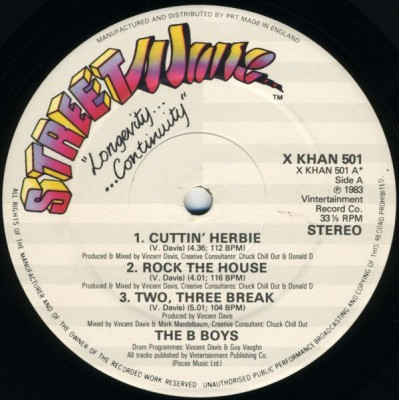 The B-Boys - Cuttin' Herbie / Two Three Break