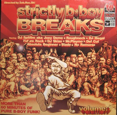 Various - Strictly B-Boy Breaks Volume:1