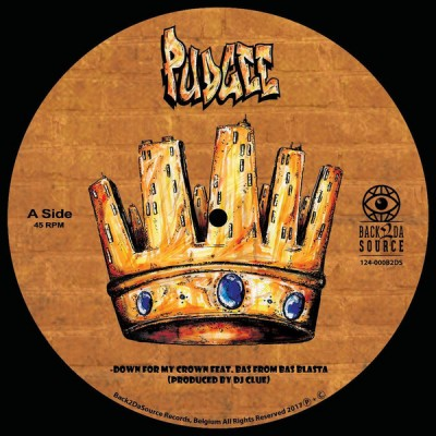 Pudgee Tha Phat Bastard - Down For My Crown / Your Hood Is My Hood