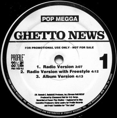 Pop Megga - Ghetto News