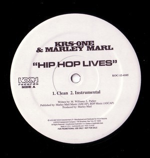 KRS One & Marley Marl - Hip Hop Lives / Kill A Rapper