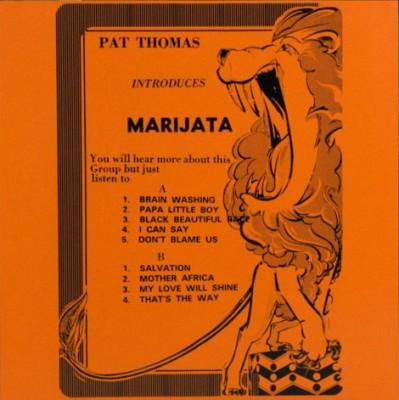 Pat Thomas Introduces Marijata - Pat Thomas Introduces Marijata