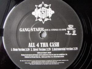 Gang Starr - All 4 Tha Ca$h / The ? Remainz