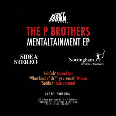 P Brothers - Mentaltainment EP