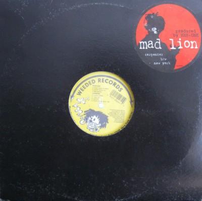 Mad Lion - Carpenter b/w New York