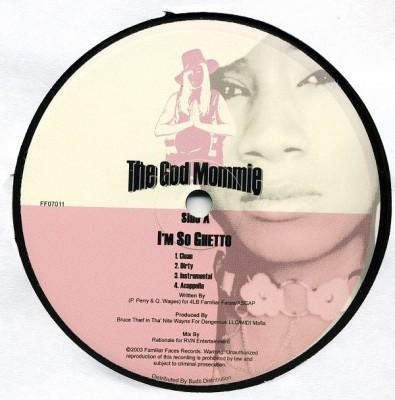 Paula Perry aka The God Mommie - I'm So Ghetto / Watch Ya Head