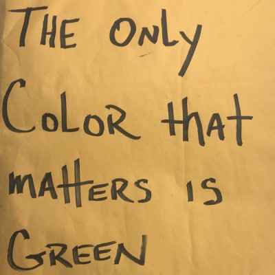 Pacewon & Mr. Green - The Only Color That Matters Is Green