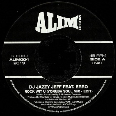 DJ Jazzy Jeff Feat. Erro - Rock Wit U