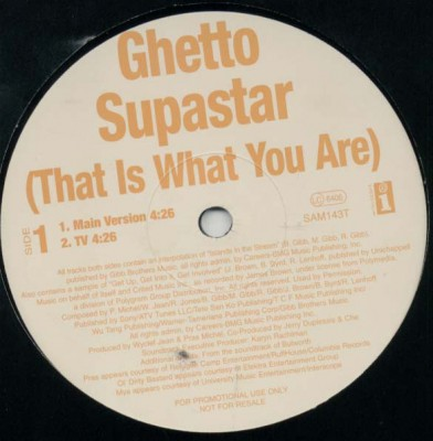 Pras Michel - Ghetto Superstar (That Is What You Are)