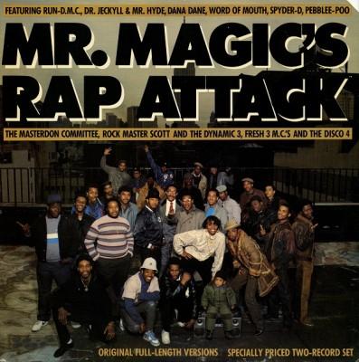Various - Mr. Magic's Rap Attack