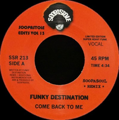 Funky Destination - Soopastole Edits Vol 13