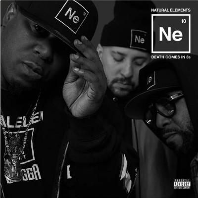 Natural Elements - Death Comes in 3s (black-white split vinyl)
