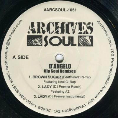 D'Angelo - Hip Soul Remixes
