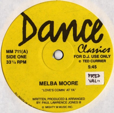 Melba Moore / Dayton - Love Comes At Ya / The Sound Of Music