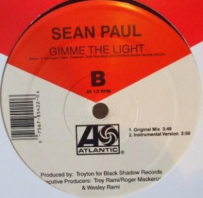 Sean Paul - Gimme The Light (Remix)