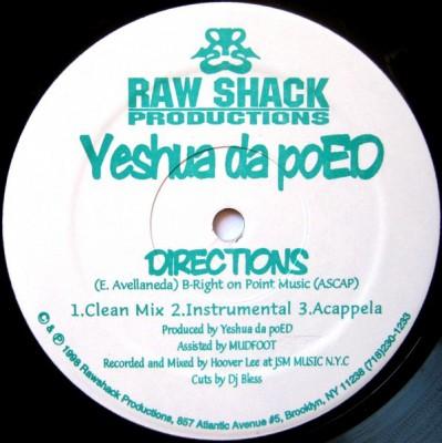 Yeshua daPoED - Directions / The Head Bop