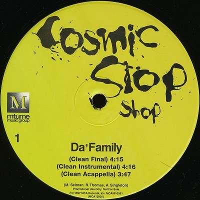 Cosmic Slop Shop - Da' Family