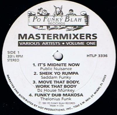 Various - Mastermixers (Volume One)