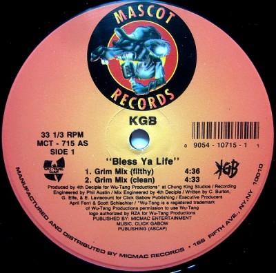 KGB - Bless Ya Life