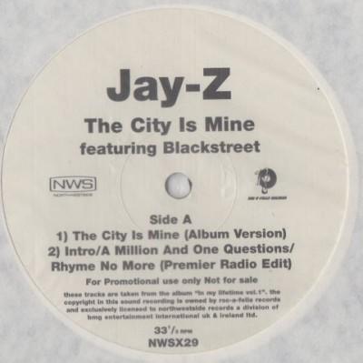 Jay-Z Featuring Blackstreet - The City Is Mine