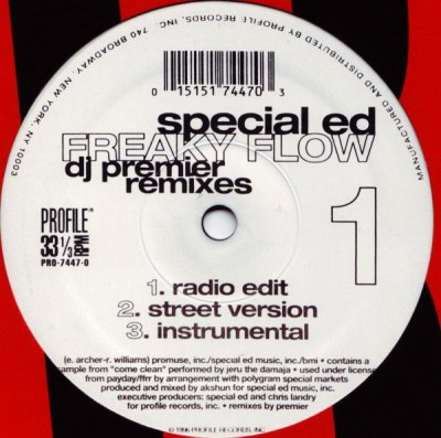 Special Ed - Freaky Flow