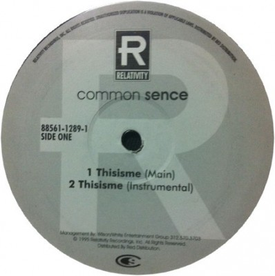 Common - Thisisme / Book Of Life