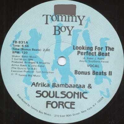 Afrika Bambaataa & Soulsonic Force - Looking For The Perfect Beat