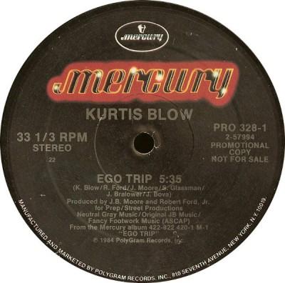 Kurtis Blow - Ego Trip