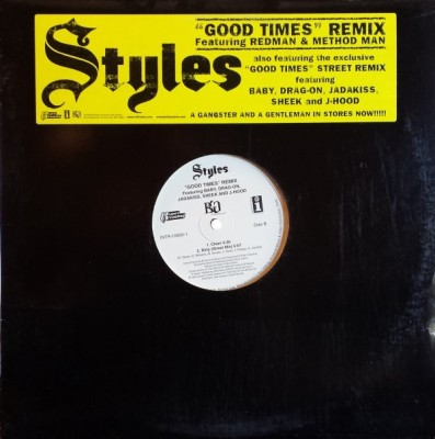 Styles P - Good Times (Remix)