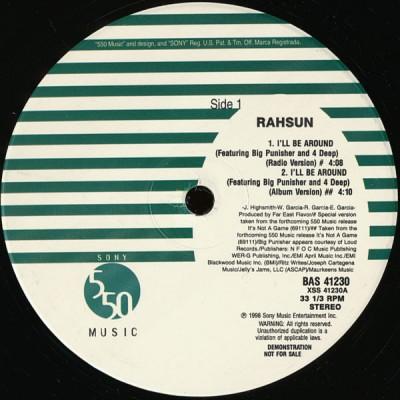 Rahsun - I'll Be Around