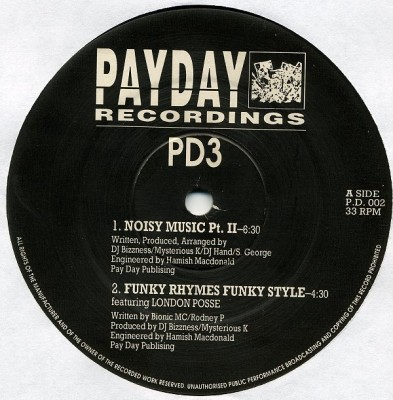 PD 3 / Points Proven - Noisy Music Pt II / Pass The Mic