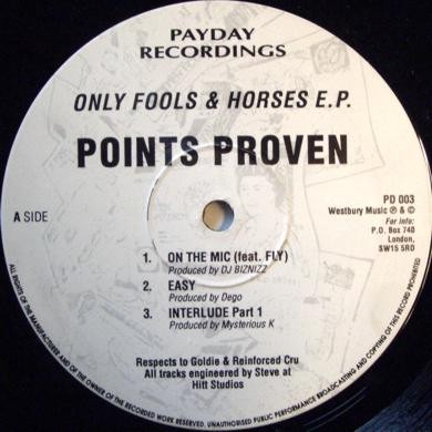Points Proven - Only Fools & Horses E.P.