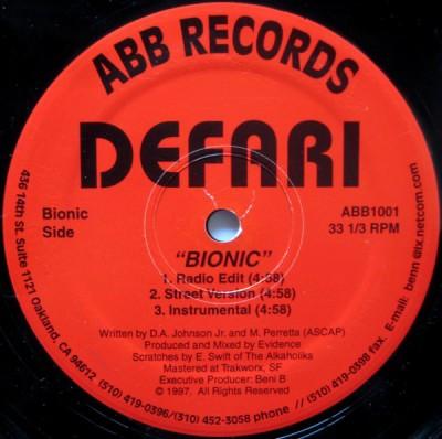 Defari - Bionic