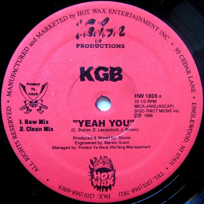 KGB - Yeah You / Heads On