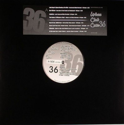 Various - Urban Club Cutz 36