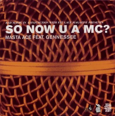 Masta Ace - So Now U A MC?