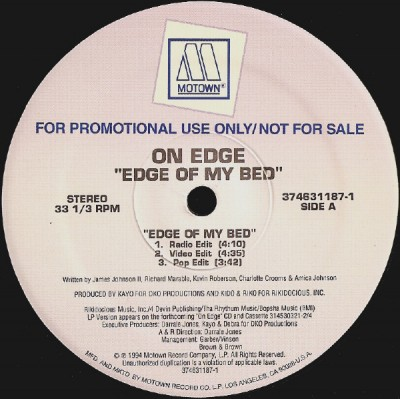 On Edge - Edge Of My Bed