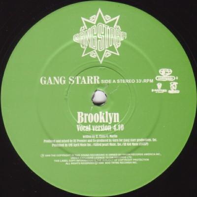 Gang Starr - Brooklyn / Dough In Advance