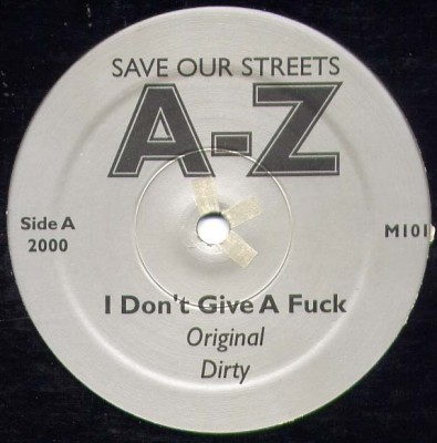 AZ - Save Our Streets A-Z