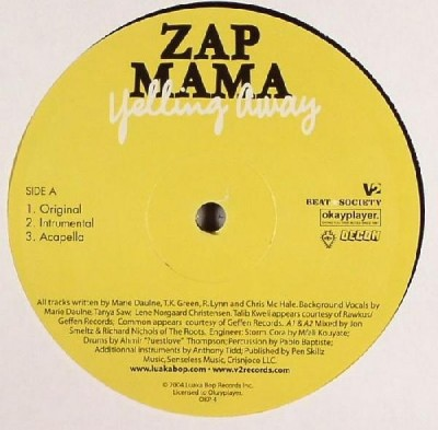 Zap Mama - Yelling Away