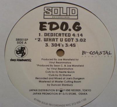 Ed O.G - Six Song EP