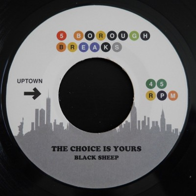 Black Sheep / Sweet Linda Divine - The Choice Is Yours / I'll Say It Again