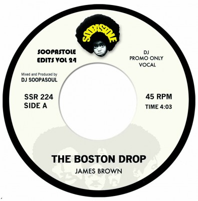 James Brown - The Boston Drop (Vocal Mix) / The Boston Drop (Instr. Mix)