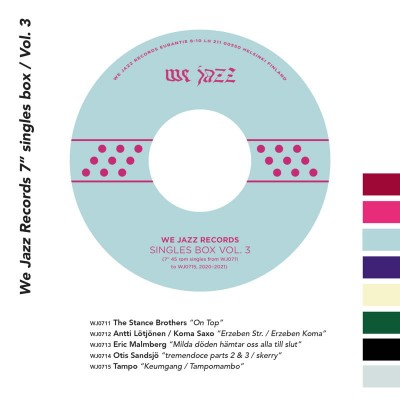 "Various - We Jazz Records 7"" Singles Box / Vol. 3"