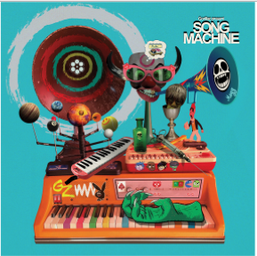 Gorillaz - Song Machine: Season One - Strange Timez (Indie Exclusive Neon Orange Colour Vinyl)