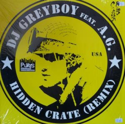Greyboy - Hidden Crate (Remix) / Cathy