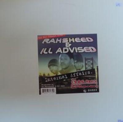 Rahsheed & Ill Advised - internal affairs / 1986 rmx