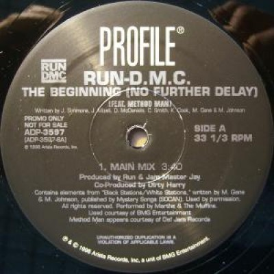 Run-DMC - The Beginning (No Further Delay)