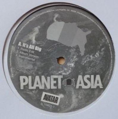 Planet Asia - It's All Big / Right Or Wrong