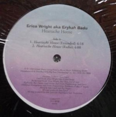 Erica Wright - Heartache House / Heartache